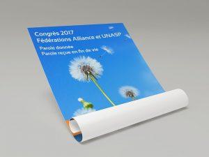 Affiche du Congrès de l'UNASP 2017
