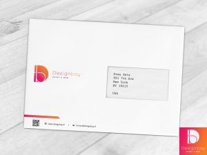 Enveloppe personnalisée avec fenêtre