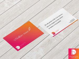 Cartes publicitaires / correspondance
