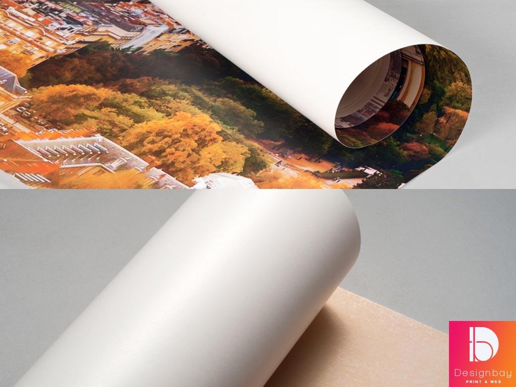 Impression sur papier peint pré-encollé