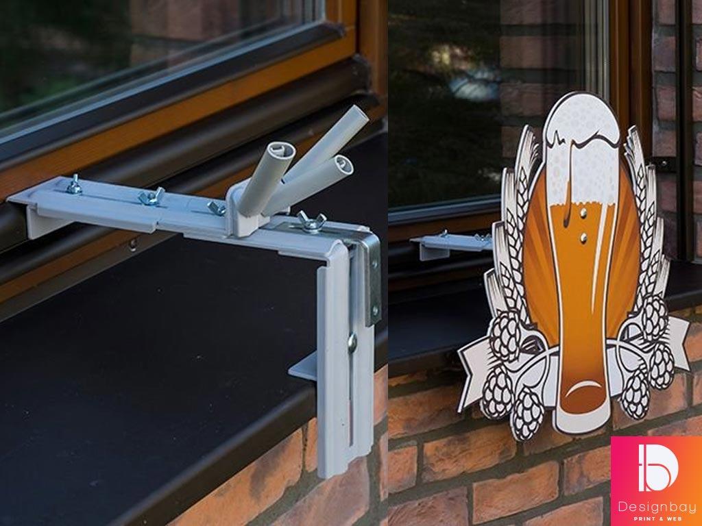Système de fixation sur fenêtre WinPal®