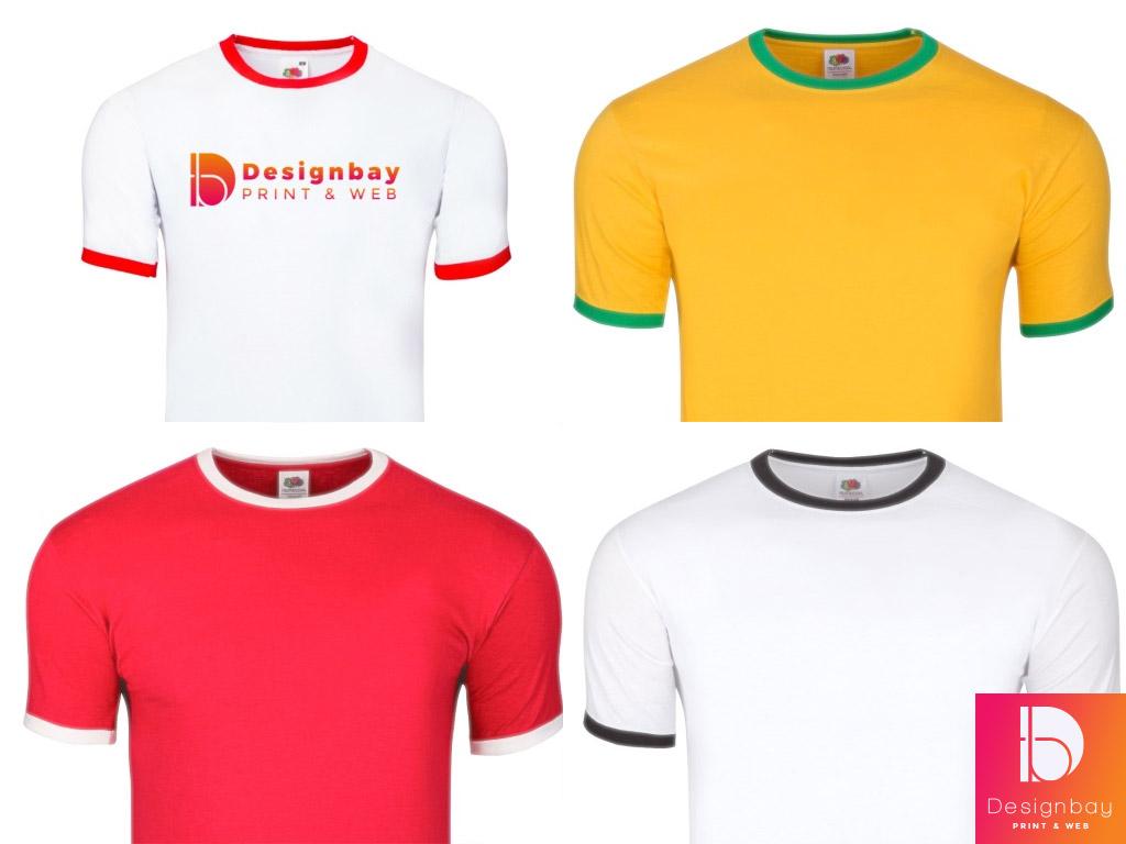 T-Shirt homme, personnalisation transfert couleurs