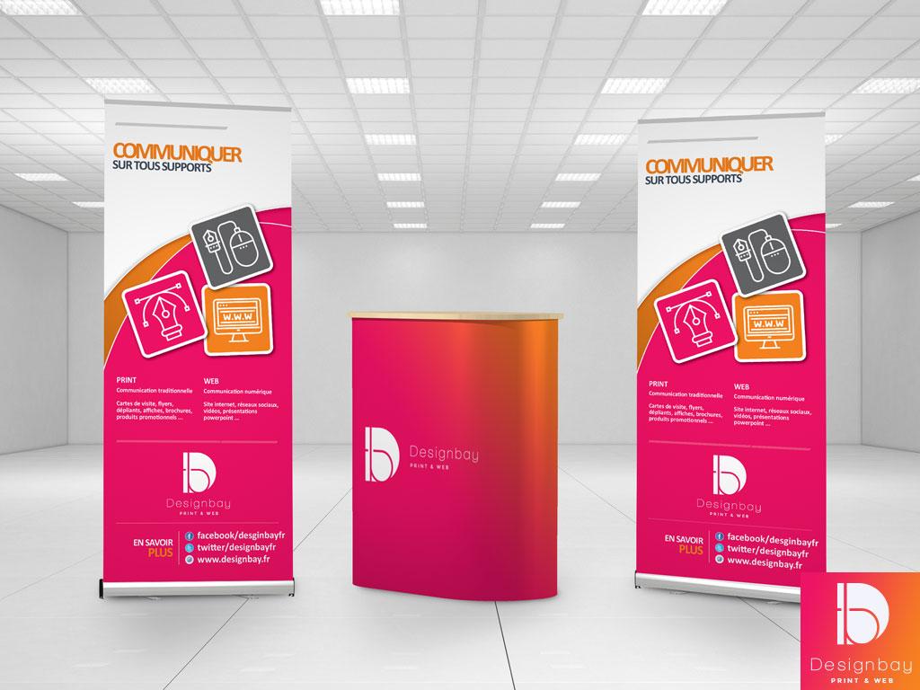 Stands pour les salons et les exposition modules et kits for Stand evenementiel salon