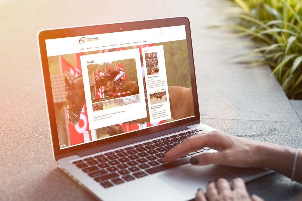 Site web du haras d'Ouilly