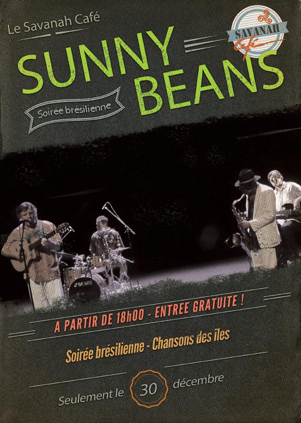 Affiche Concert - Sunny Beans