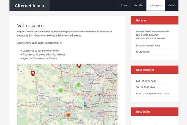 Alternet Immo – Présentation de l'Agence immobilière