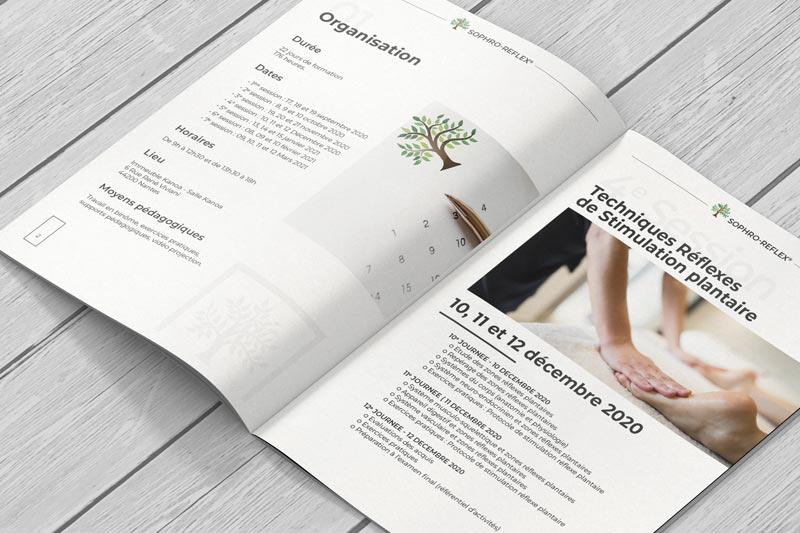Brochure Formation Réflexologie - Nantes