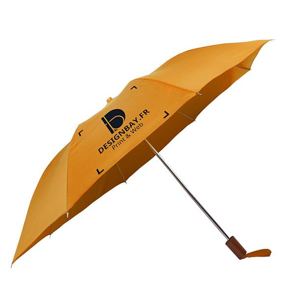 ac71 Parapluie à 2 sections orange
