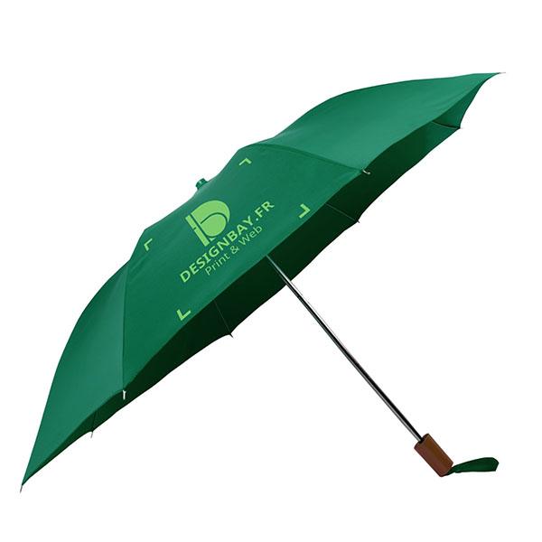 ac71 Parapluie à 2 sections vert