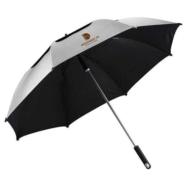 ac72 Parapluie tempête Hurricane gris