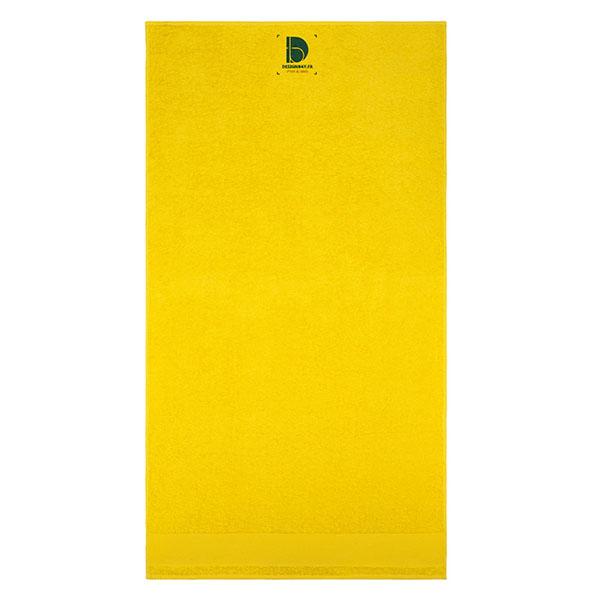 ac75 Serviette 70 x 140 Island jaune