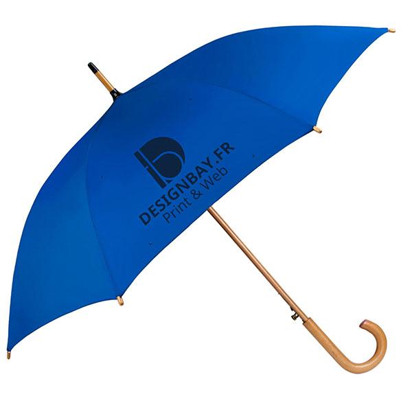 ac76 Parapluie classique automatique bleu