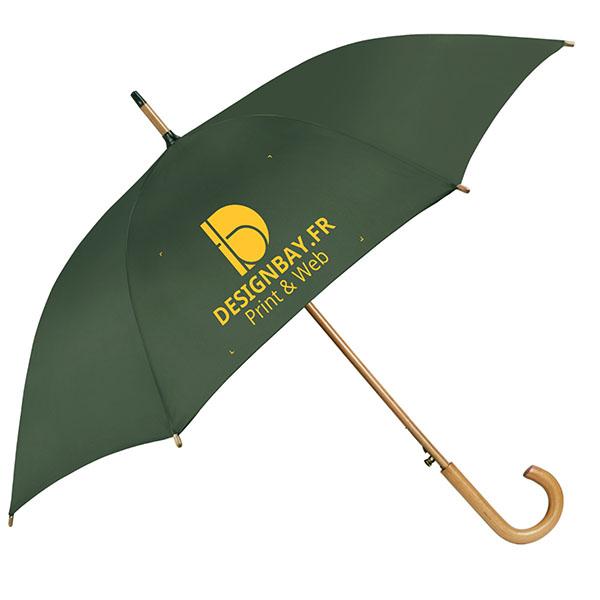 ac76 Parapluie classique automatique kaki