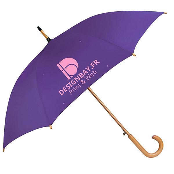 ac76 Parapluie classique automatique mauve