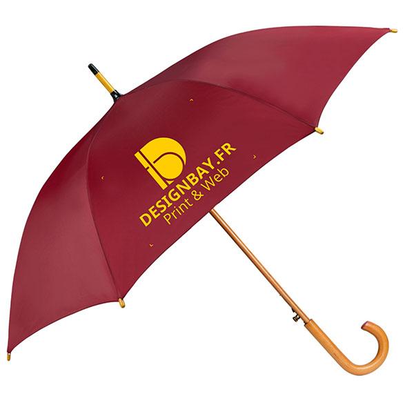 ac76 Parapluie classique automatique rouge