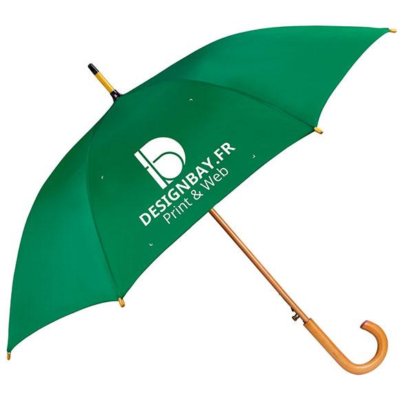 ac76 Parapluie classique automatique vert