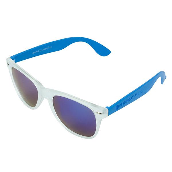 ac79 Lunettes de soleil California bleu