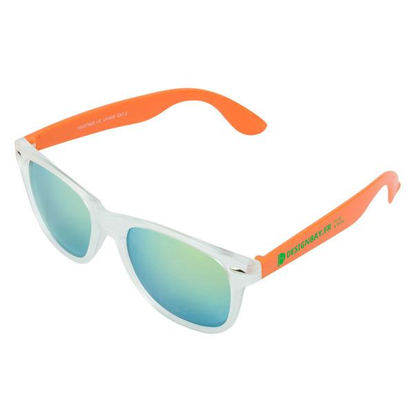ac79 Lunettes de soleil California orange
