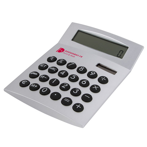 bu115 Calculatrice Face-it bu115 argent