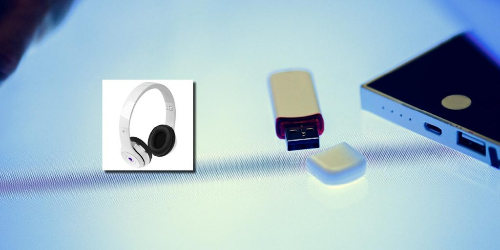 Casque pliable Bluetooth® Cadence avec étui (#ht96)