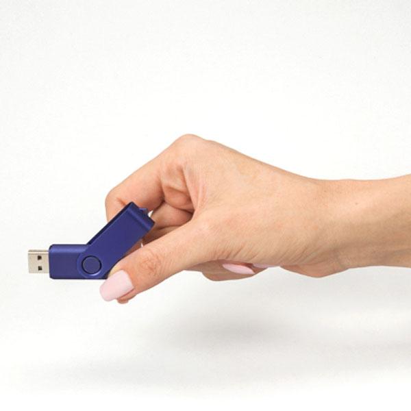 ht83 Clé USB effet métallisé 2 Go 2