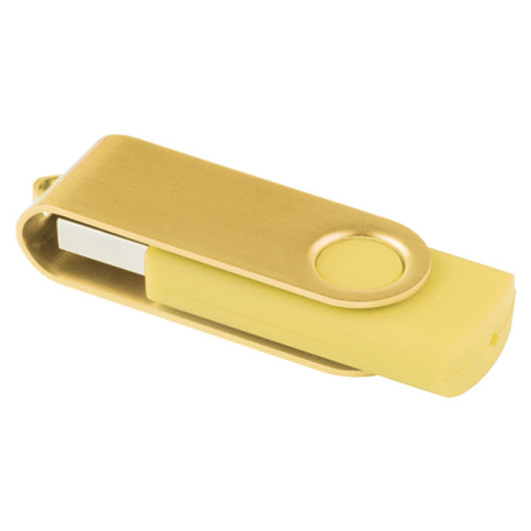 ht83 Clé USB effet métallisé 2 Go 3