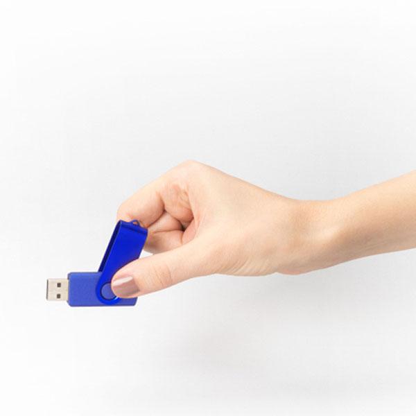 ht85 Clé USB métallisée rotative 4 Go 3