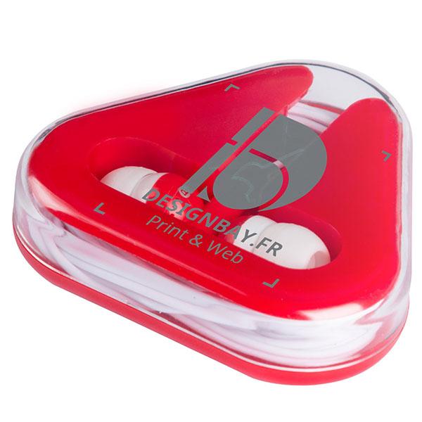 ht88 Écouteurs Rebel rouge
