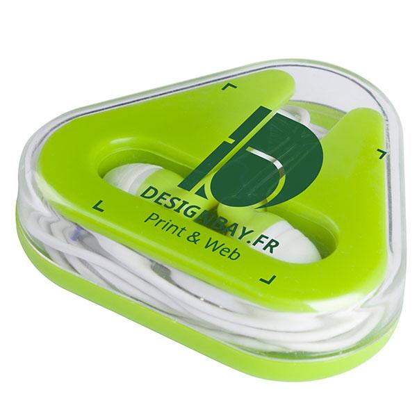 ht88 Écouteurs Rebel vert