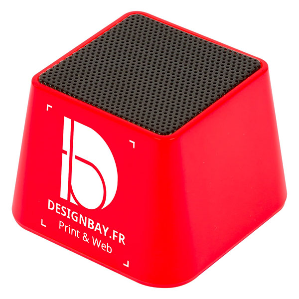 ht89 Mini haut-parleur Bluetooth rouge
