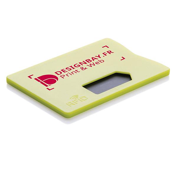 ht93 Porte-carte anti RFID jaune