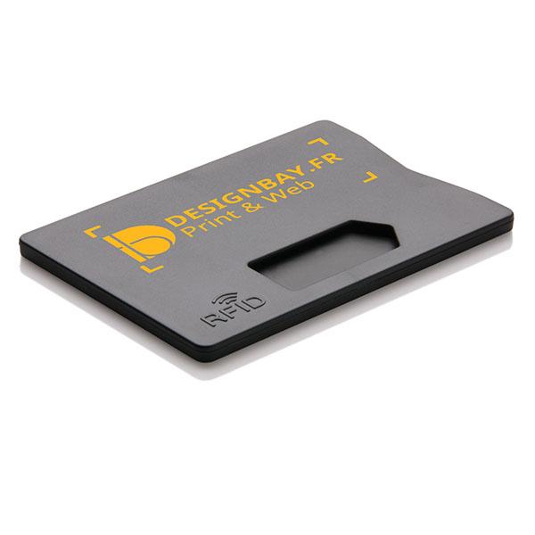 ht93 Porte-carte anti RFID noir