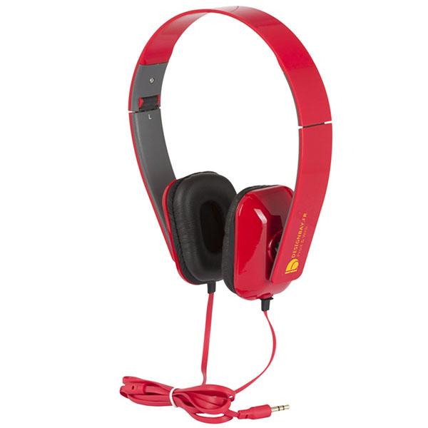 ht95 Casque pliable Tablis rouge