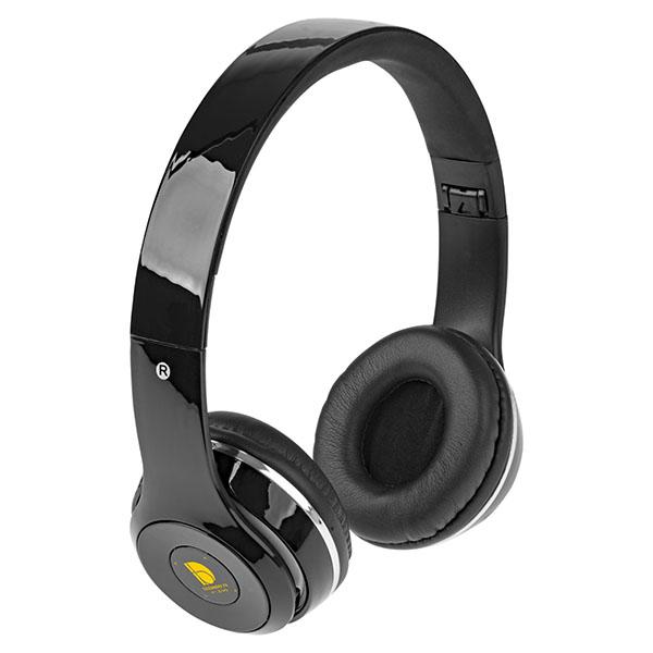 ht96 Casque pliable Bluetooth Cadence avec étui noir