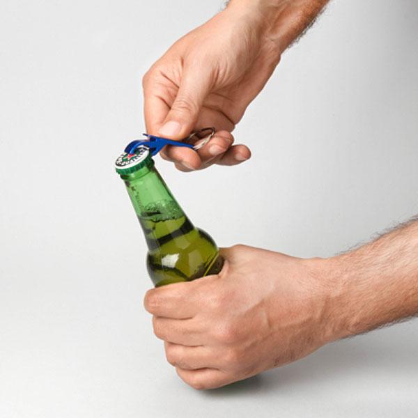 ma135 Porte-clés ouvre-boîte ouvre-bouteille