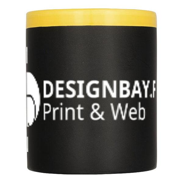 mu119 Tasse-tableau noir Chalk Write jaune