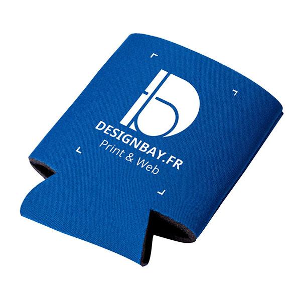 mu138 Porte-boissons isolant et pliant Crowdio bleu