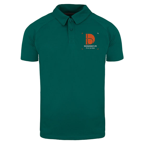 po14 Polo homme Cool Fit Ottawa Vert