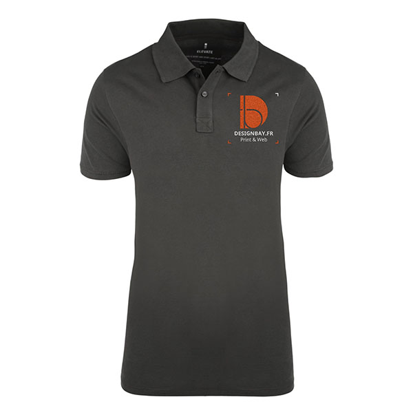 po20 Polo homme manches courtes Seller Anthracite