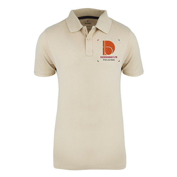 po20 Polo homme manches courtes Seller Beige