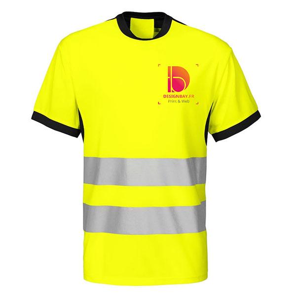 se35 T-shirt Projob classe 2 conforme noir