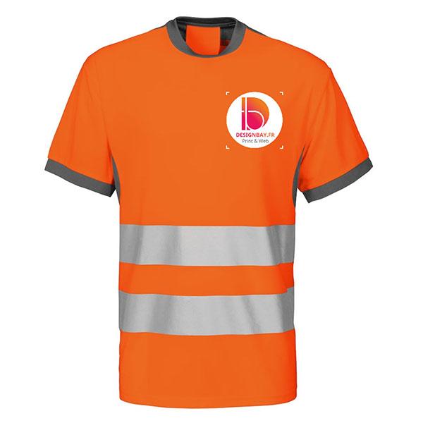 se35 T-shirt Projob classe 2 conforme orange