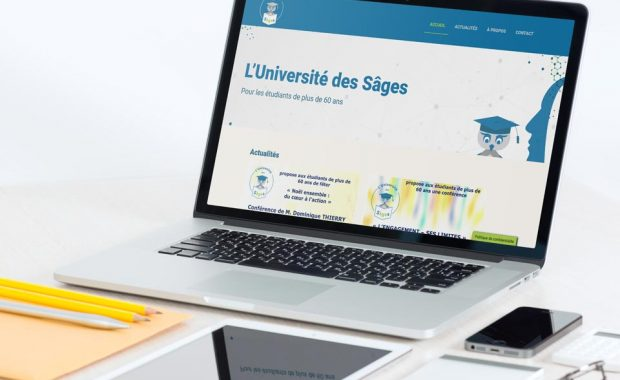 Refonte web : association Université des Sâges